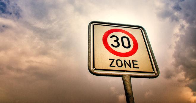 Endlich Tempo 30 in der Hauptstraße!